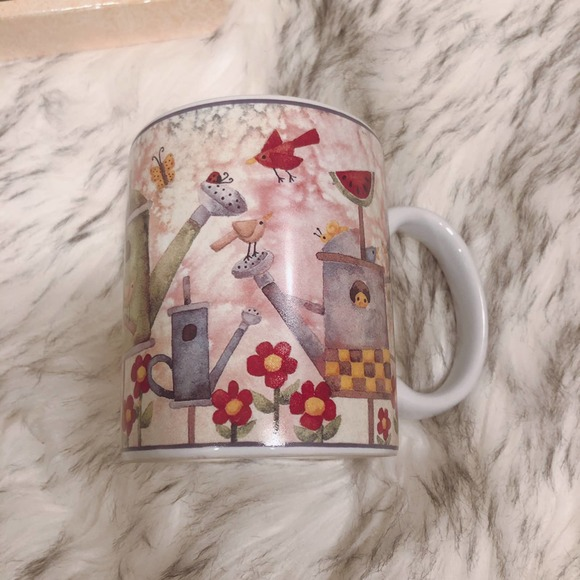 Vintage 2000 Birds of a Feather Mug Cup